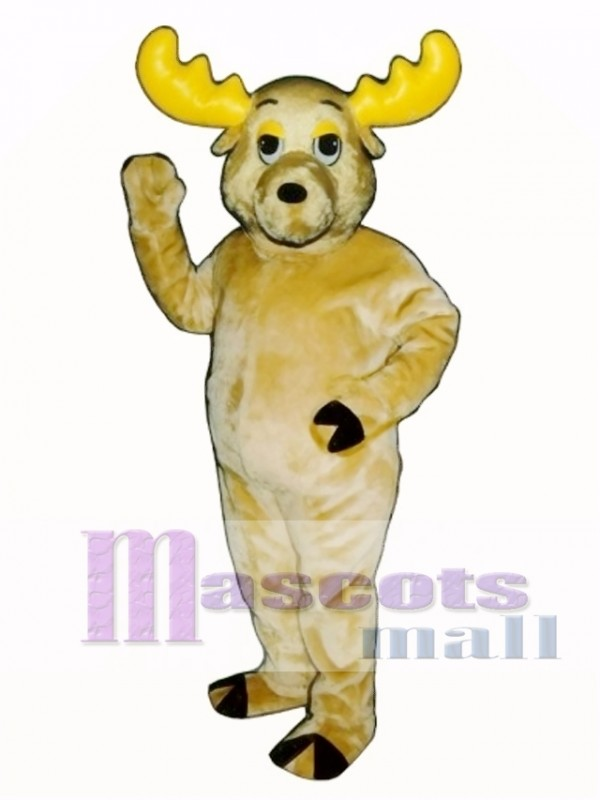 Cute Morty Moose Mascot Costume
