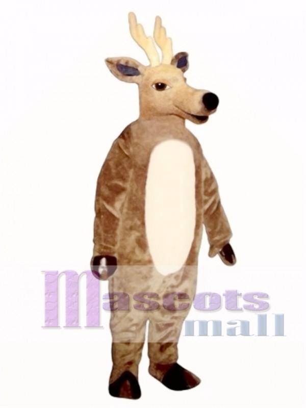 Cute Sleepy Deer Mascot Costume