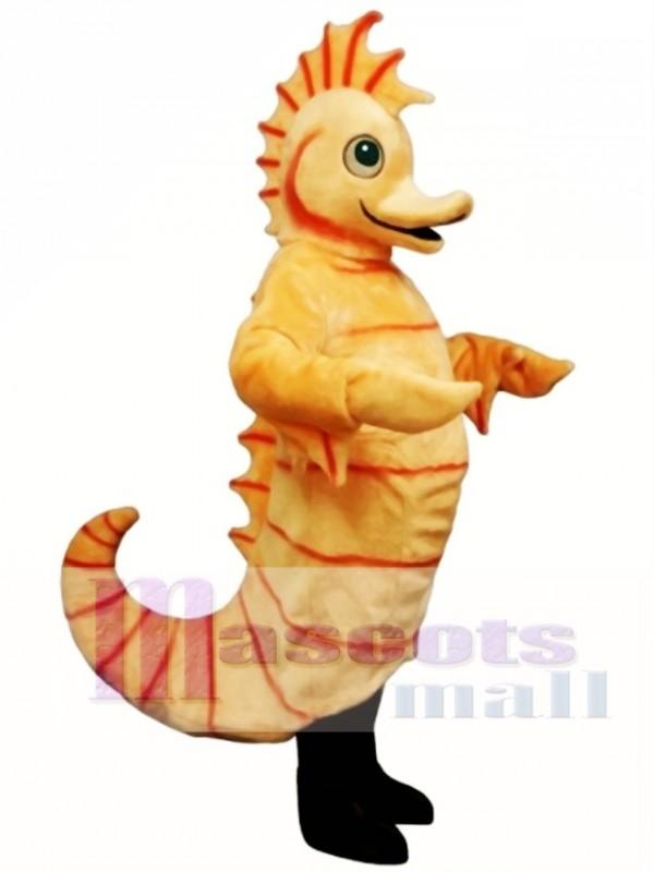 Cute Cartoon Seahorse Mascot Costume