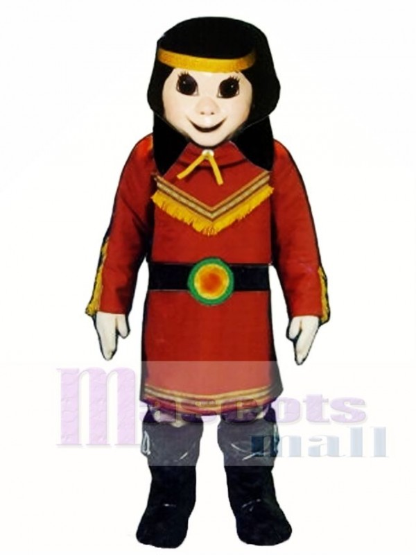 Native American Princess Mascot Costume