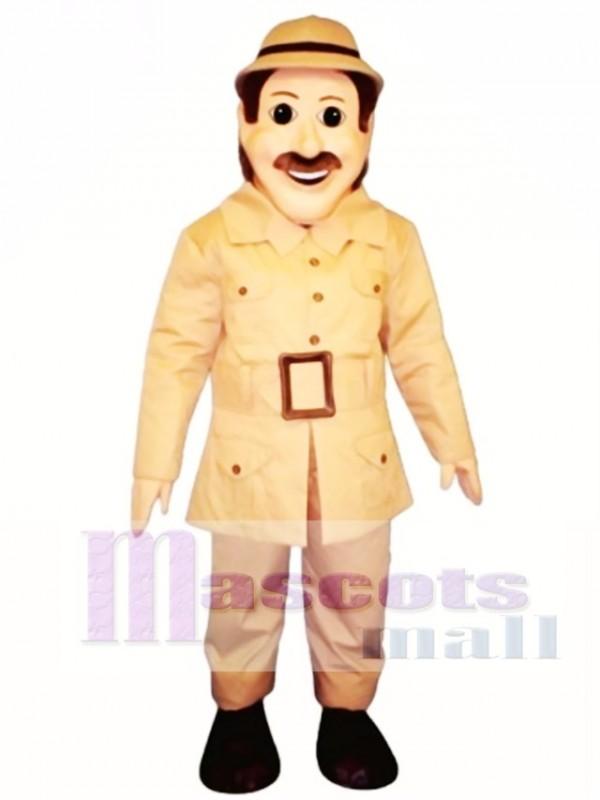 Safari Sam Mascot Costume