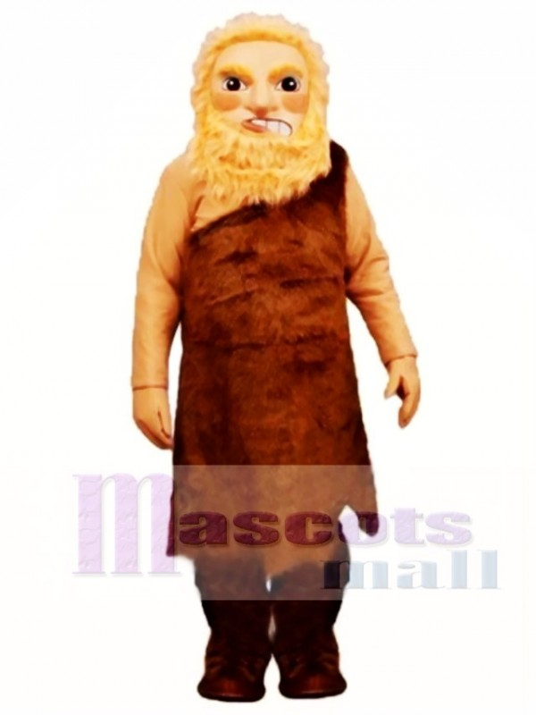 Wild Man Mascot Costume People
