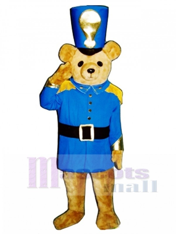 Soldier Bear Mascot Costume