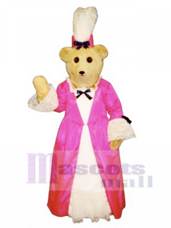 Cute Desiree Duebear Bear Mascot Costume