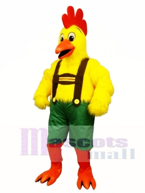 Cute Chicken Yodel Mascot Costume