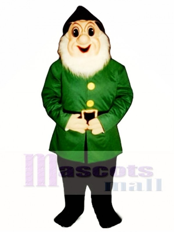 Christmas Elf with Glasses Mascot Costume