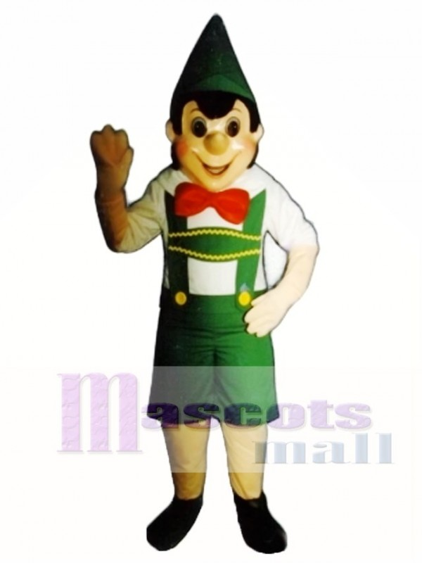 Boy Elf Mascot Costume
