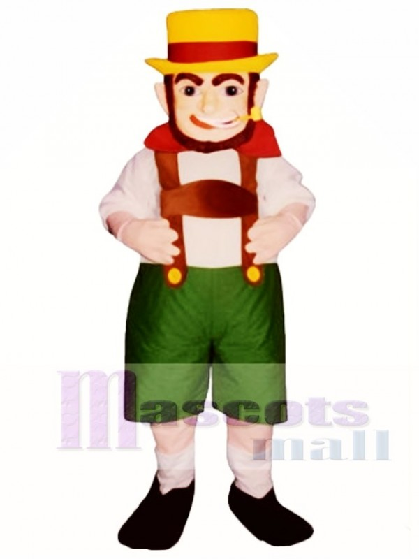 O'Leary Leprechaun Mascot Costume