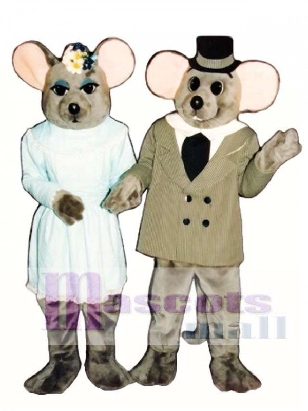 Miss Mouse Mascot Costume