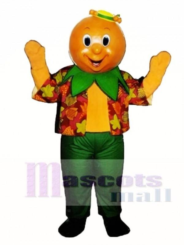 Orran Orange Mascot Costume Fruit
