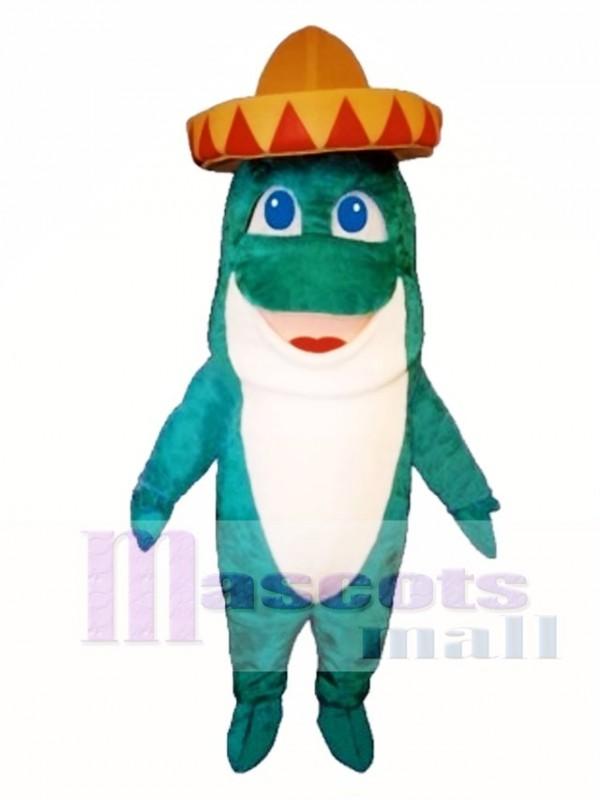 Cute Senor Fish Mascot Costume