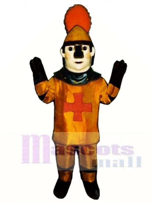 Golden Knight Mascot Costume