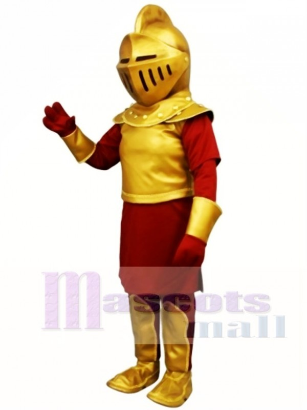 Sir Lance Maskottchen Kostüm Menschen