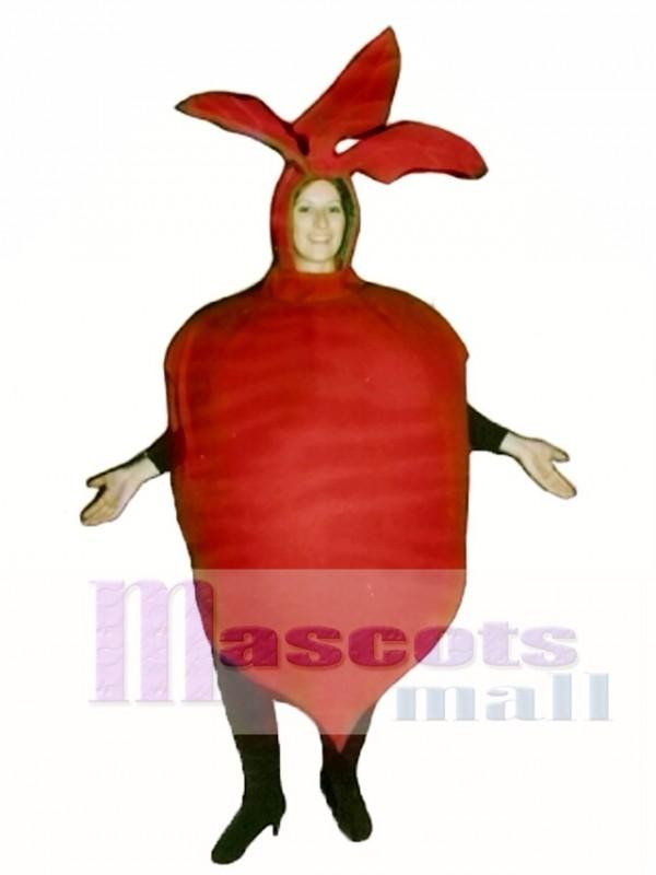 Beet Mascot Costume Plant