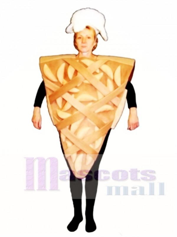 Apple Pie Mascot Costume