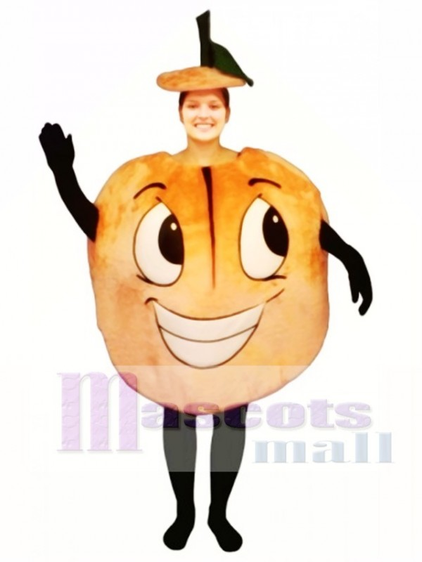 Peachie Keen Mascot Costume Fruit