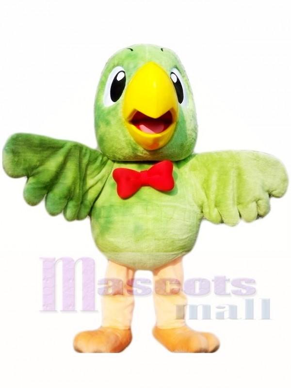 Green Parrot Mascot Costumes Bird