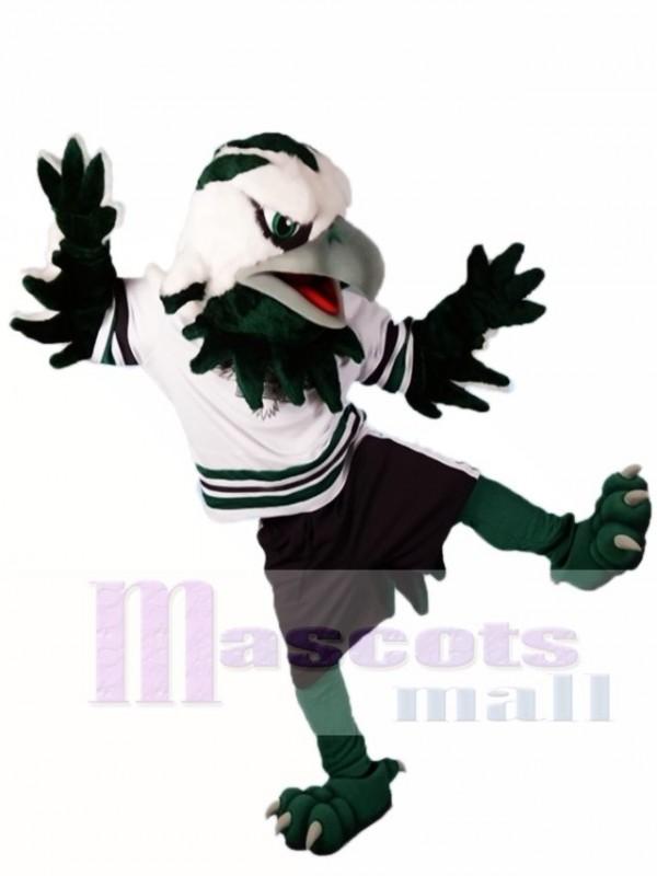 Green Eagle Falcon Mascot Costumes Animal