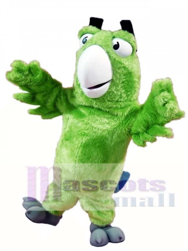 Green Parrot Mascot Costumes Bird