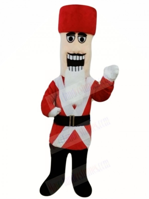 Marching Nutcracker Mascot Costumes People Christmas Xmas