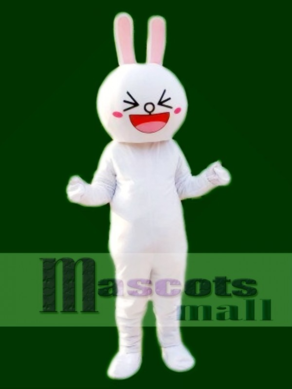 Cony Rabbit Bunny Mascot Costume Line Town Friends Mascot