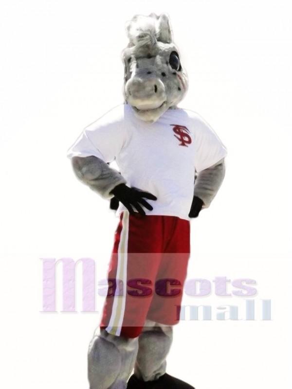 Sport School Horse Mascot Costumes Animal