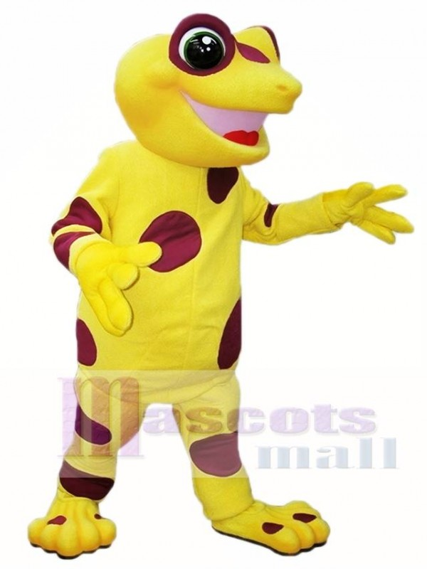 Yellow Frog Mascot Costumes