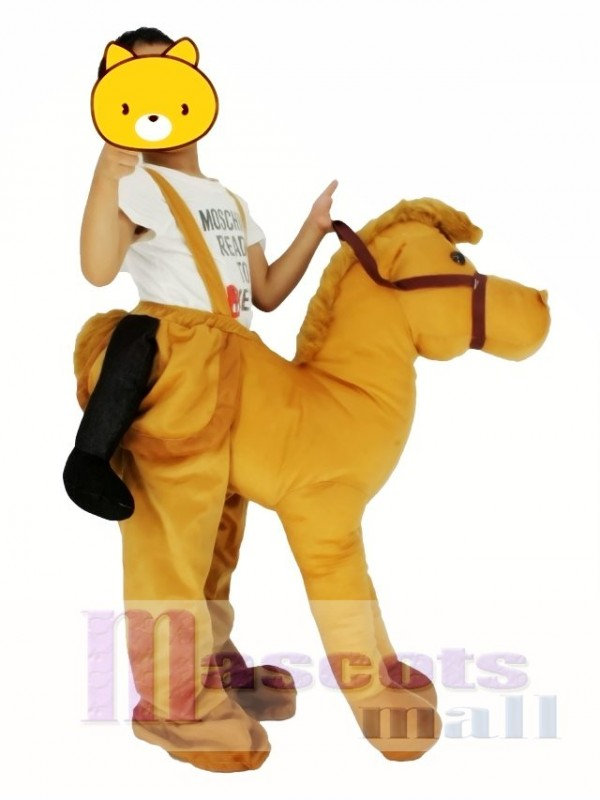 Children/ Kids Piggyback Carry Me Ride on Horse Mascot Costume