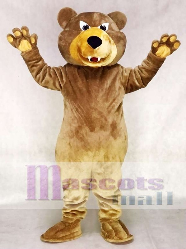 Brown Bear Mascot Costume Grizzlies Mascot Costume Animal