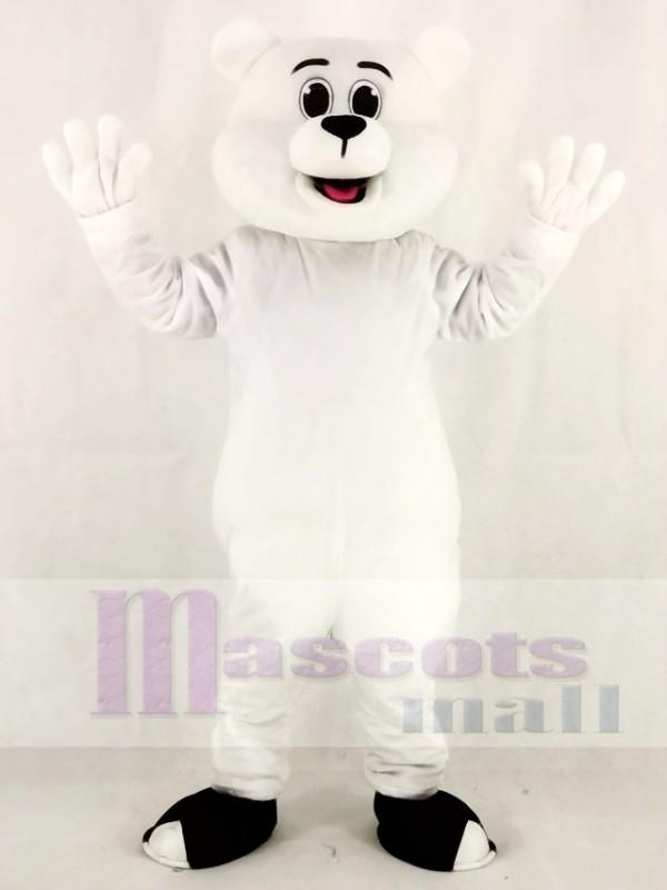 White Polar Bear Mascot Costumes Animal