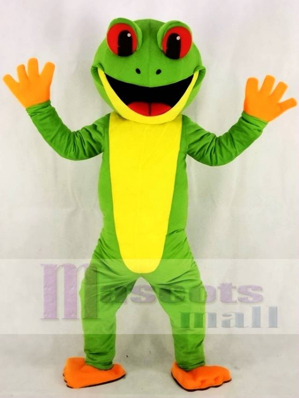 Green Tree Frog Mascot Costumes Animal