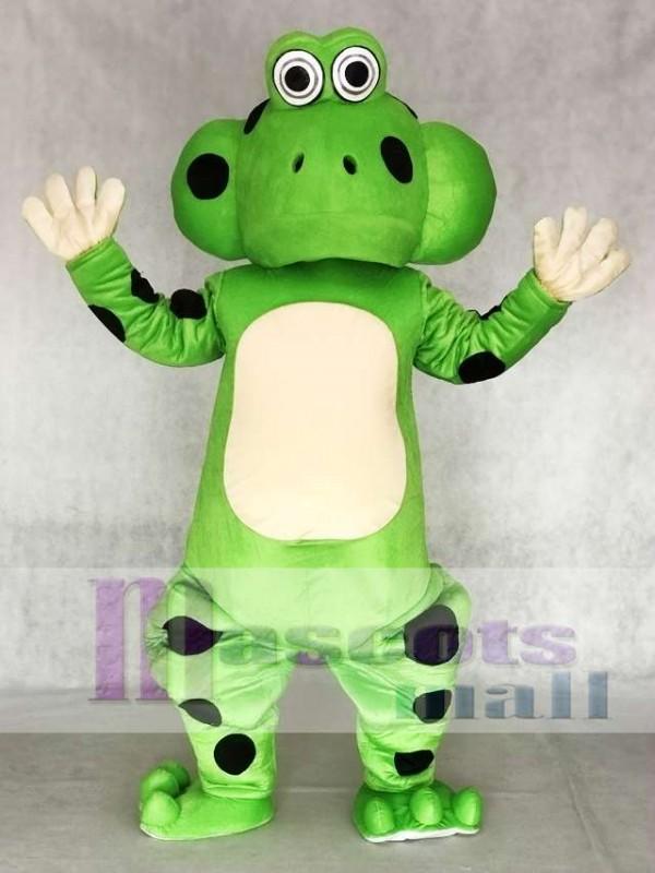 Frog Froggles Mascot Costume