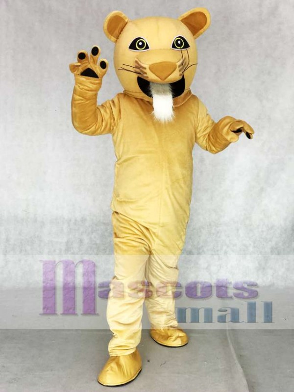 Puma Adult Mascot Costume Animal
