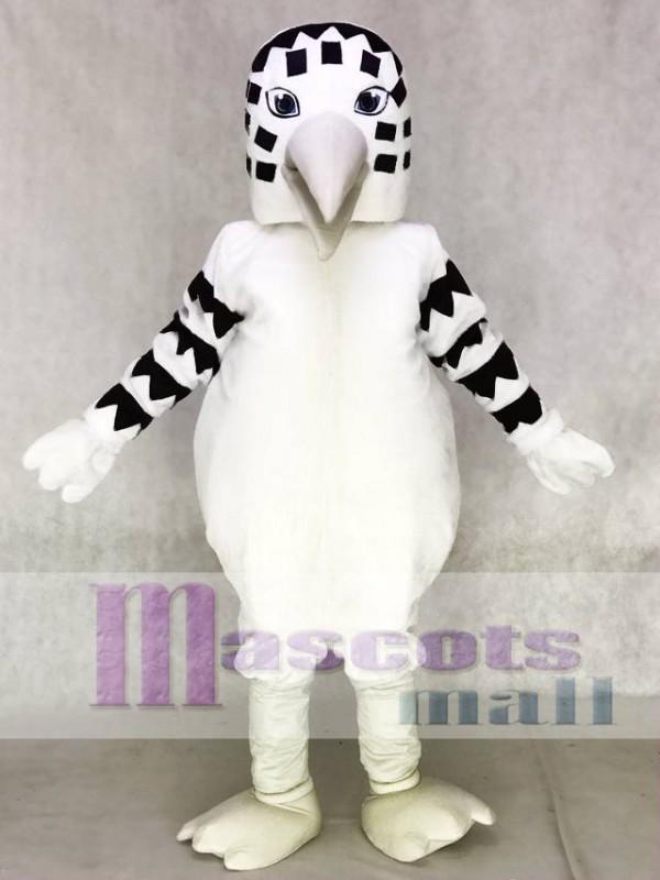Black and White Sandpiper Mascot Costume