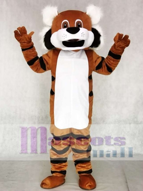 Cute Toby Tiger Mascot Costume Animal