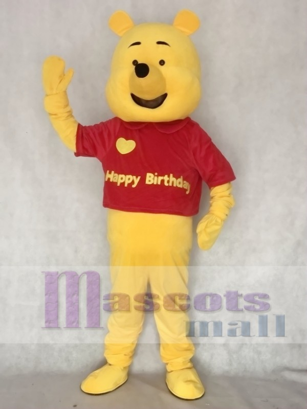 Love Bear Adult Mascot Costume
