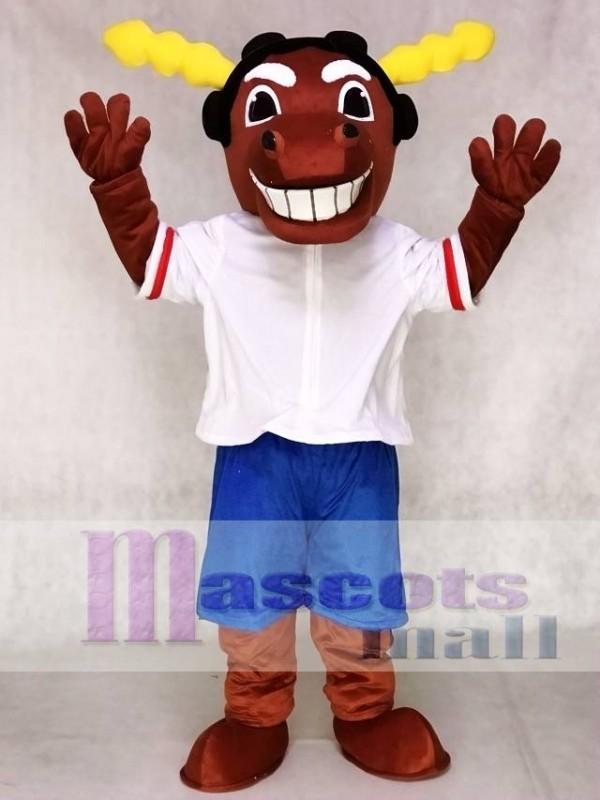 Mick E Moose Of The Winnipeg Jets Manitoba Mascot Costumes