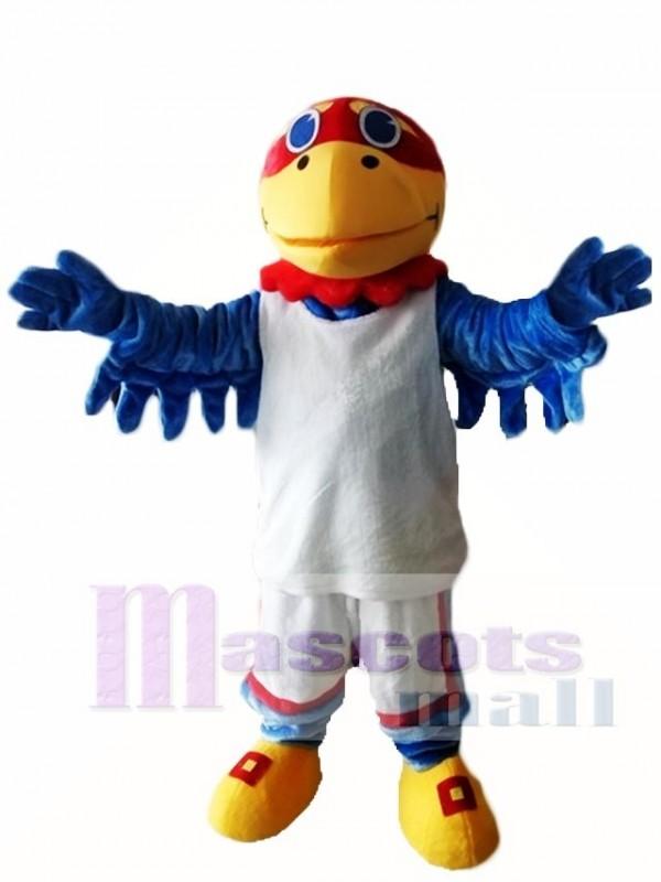 Kansas Ku Jayhawks Hawk Birds Mascot Costume