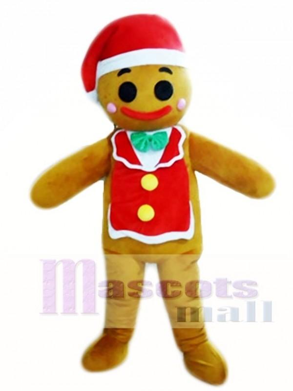 Gingerbread Man Christmas Mascot Costumes