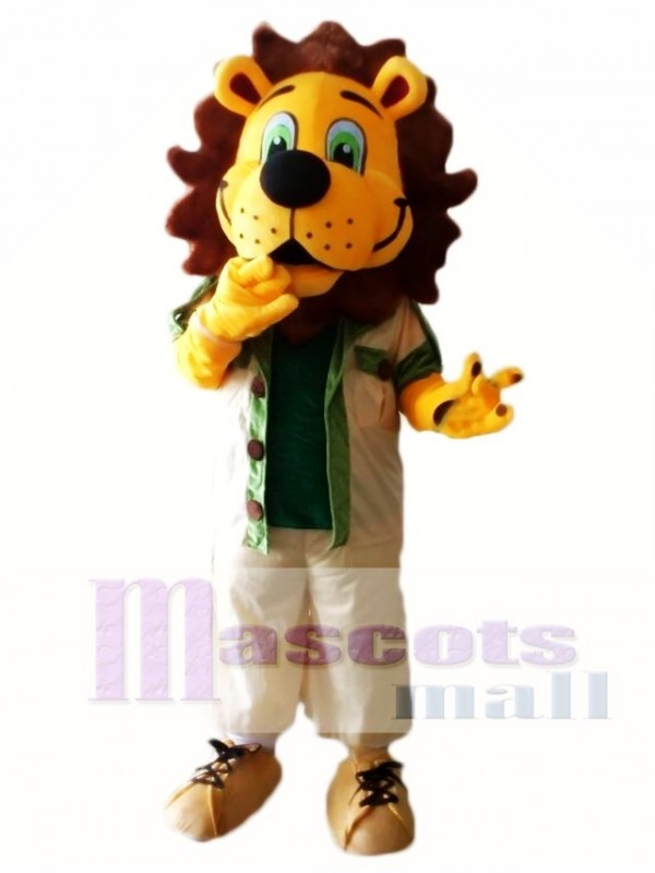 Roarie Lion Mascot Costumes Animal