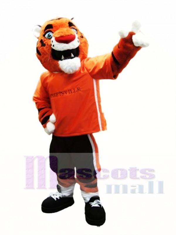 Orange Tiger Mascot Costumes