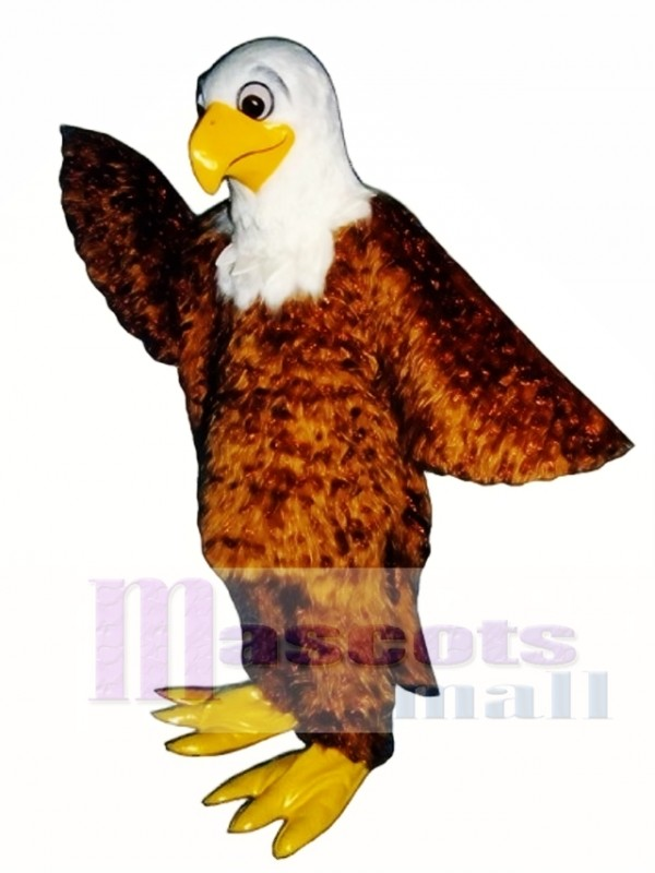 Cute Friendly Eagle Mascot Costume