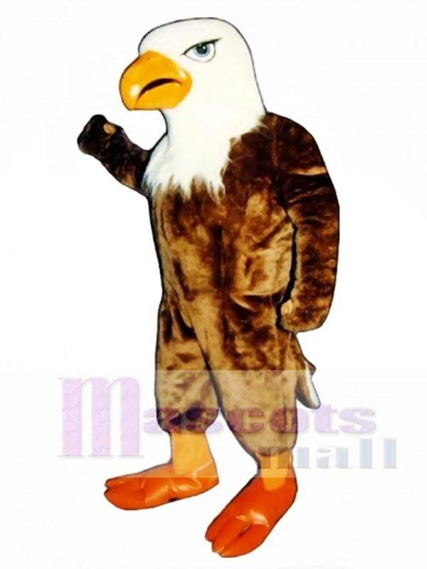 Cute Arnold Eagle Mascot Costume