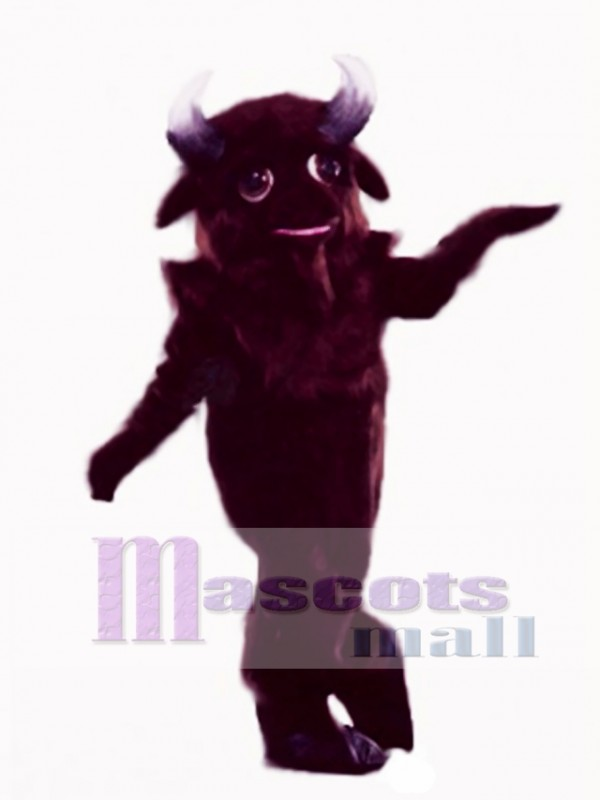 Cute Buffalo Mascot Costume