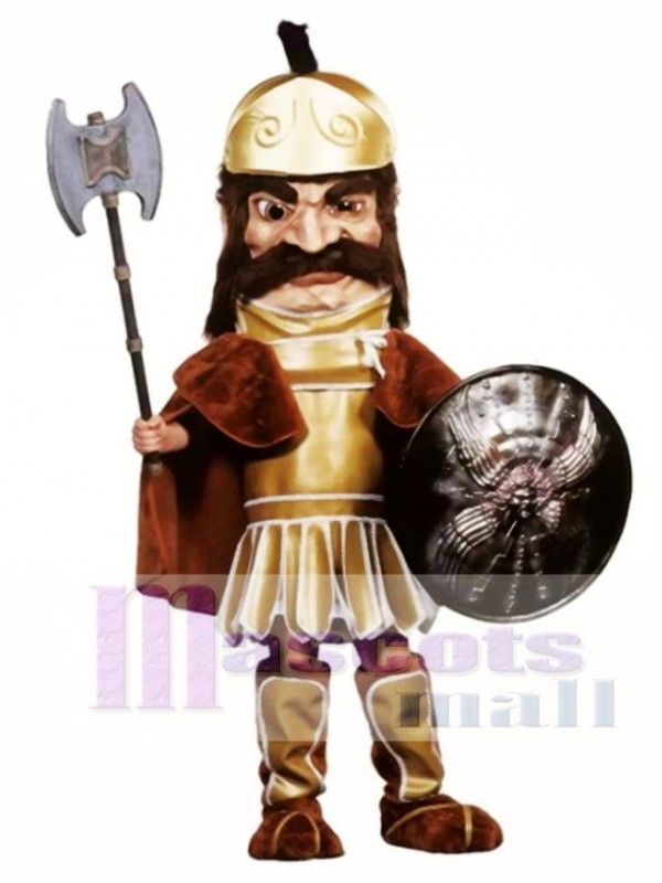 Trojan Warrior Mascot Costume (Shield & Axe not Included)