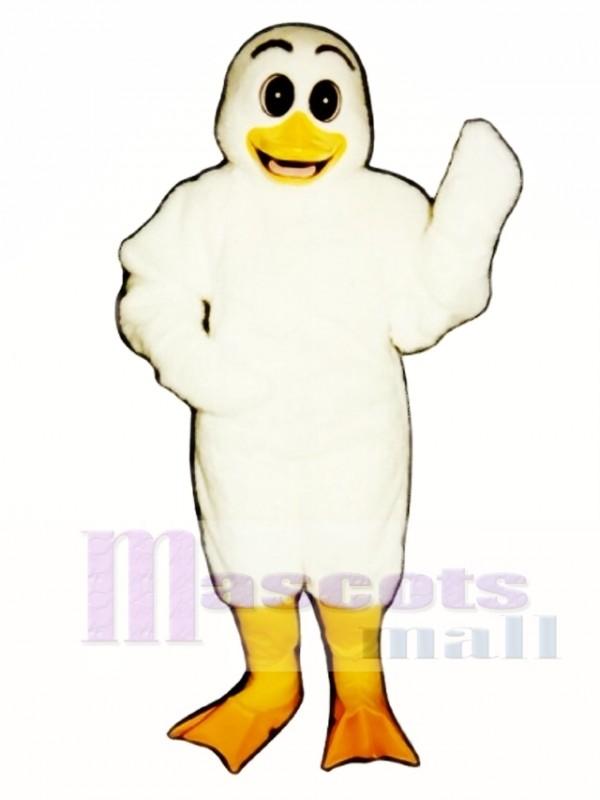 Cute Ugly Ducking Duck Mascot Costume