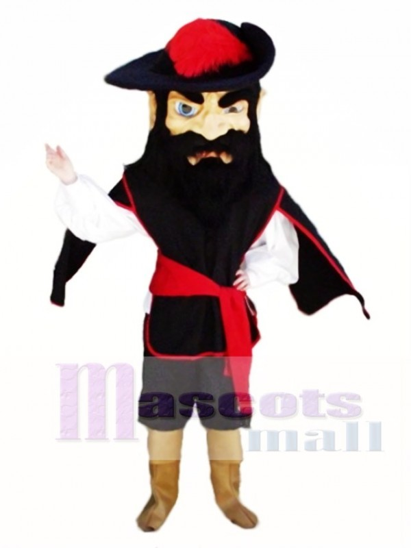 Fighting Cavalier Mascot Costume People