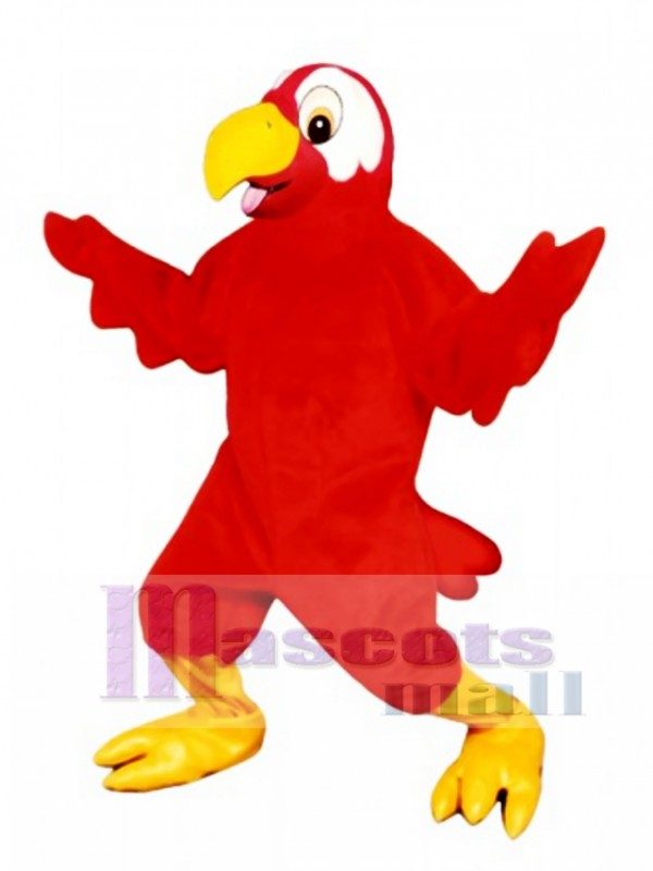 Cute Marty Macaw Mascot Costume
