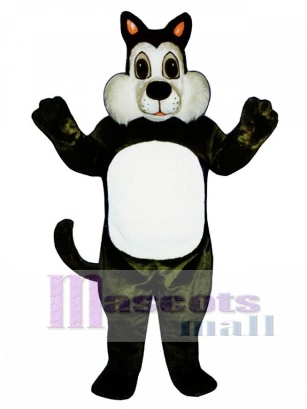Cute Comic Cat Mascot Costume