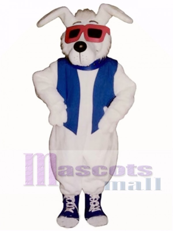 Cute Mellow Fellow Dog Mascot Costume